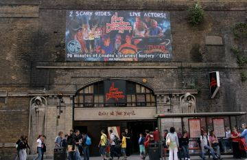 Entrance to the London Dungeon