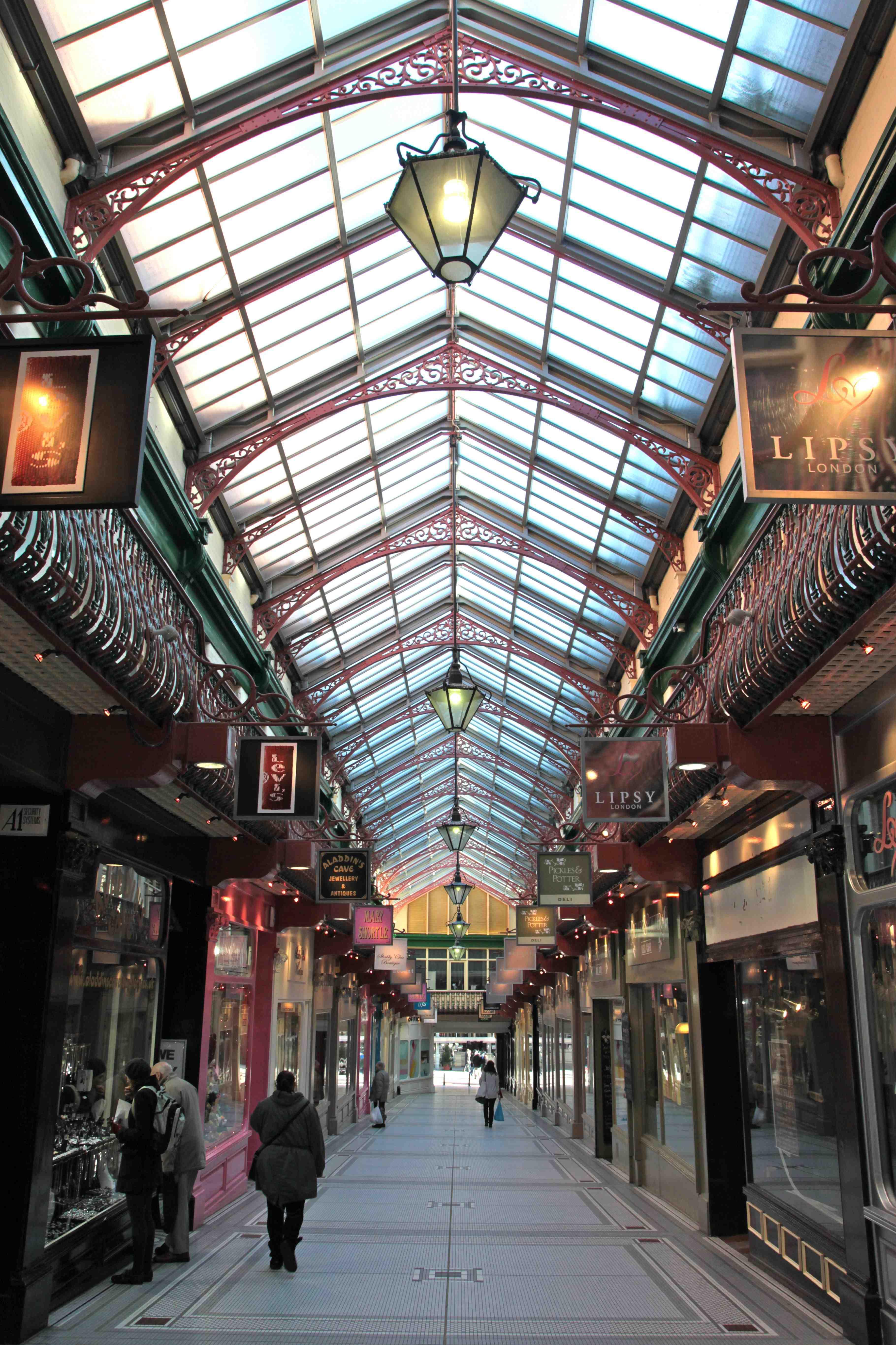 The Victorian Arcades Of Leeds Paul Dobraszczyk