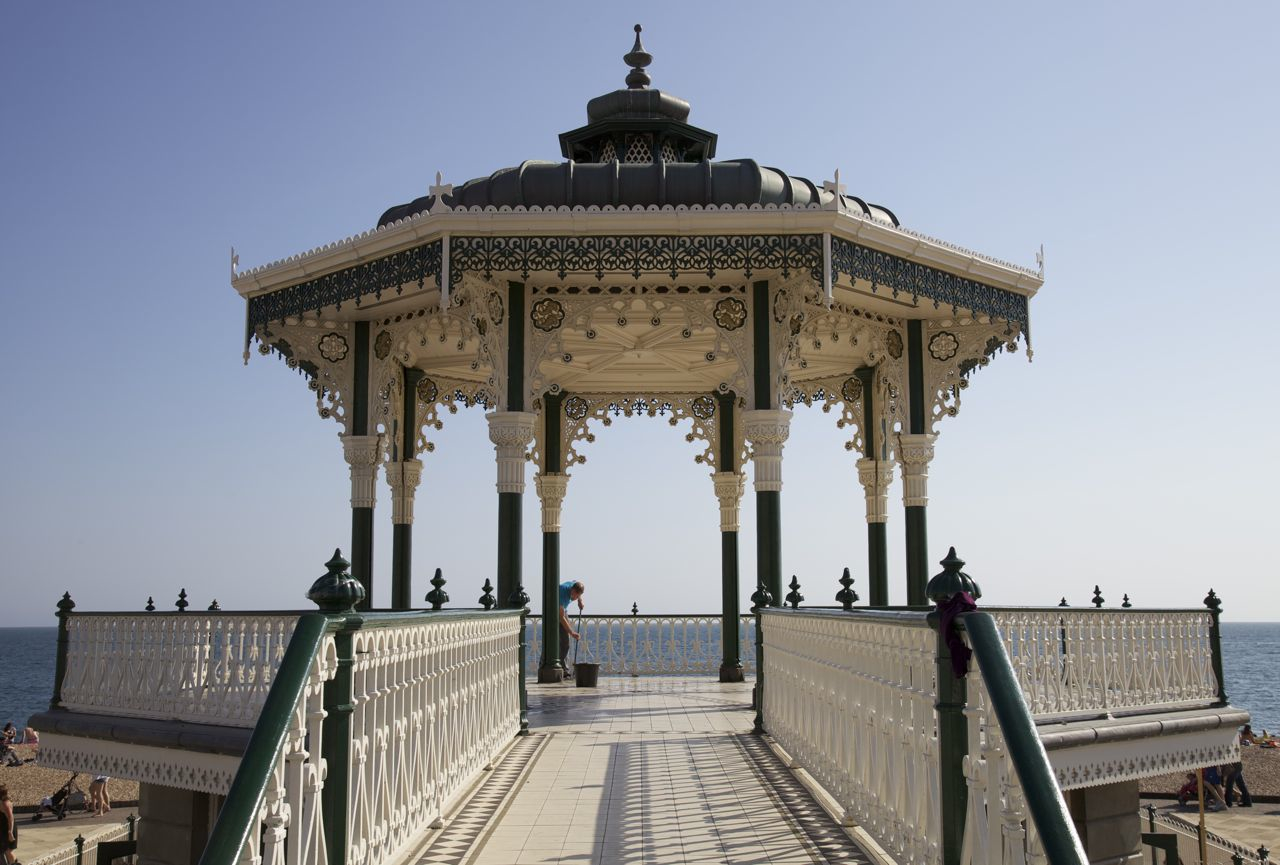 Orientalism On Sea Brighton S Birdcage Bandstand Paul