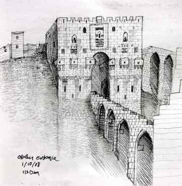 4. The Citadel, Aleppo, 2008
