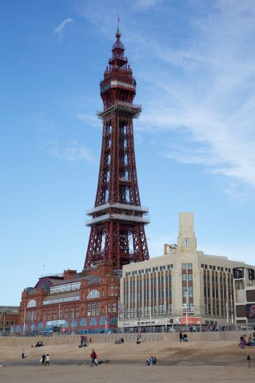 1. The Blackpool Tower in 2011