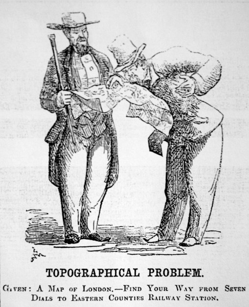 4. 'Topographical problem', Punch, 1851