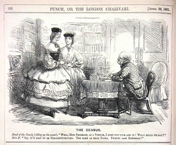 'The census', Punch, 20 April 1861, p. 162