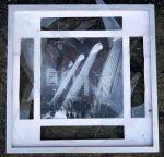 2. Broken picture found at the base of Strangeways prison wall