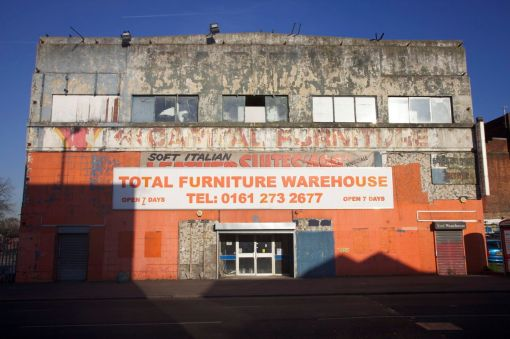 5. Textile warehouse on Hyde Road, Ardwick