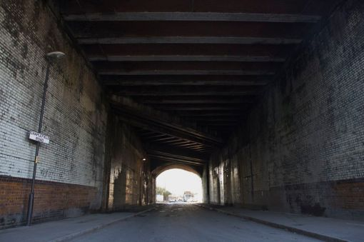 6. Railway viaduct in Ardwick