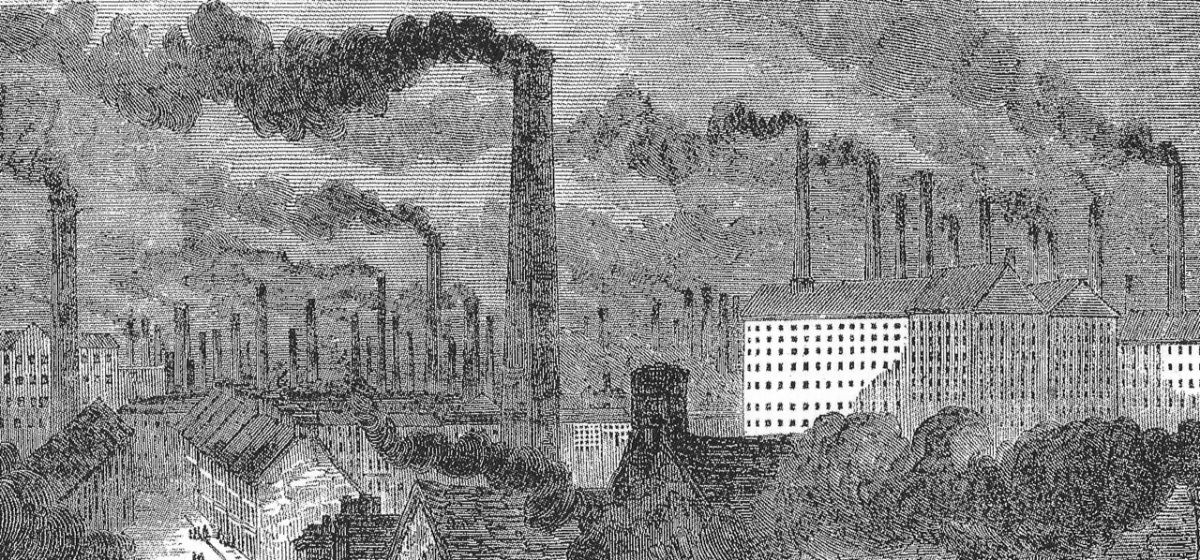 2. 'Manchester, getting up the steam', The Builder, 1853.