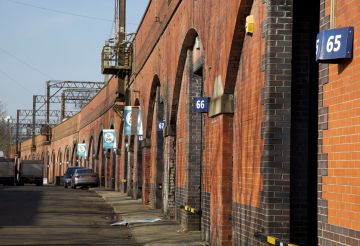 1. Arches fronting Temperance Street.