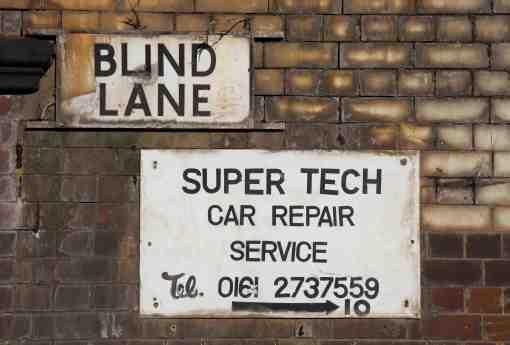 2. Blind Lane