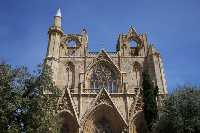 1. West front of St Nicholas Cathedral/Lala Mustafa Pasa Mosque
