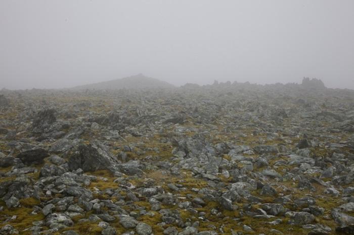 Mist on Foel Grach