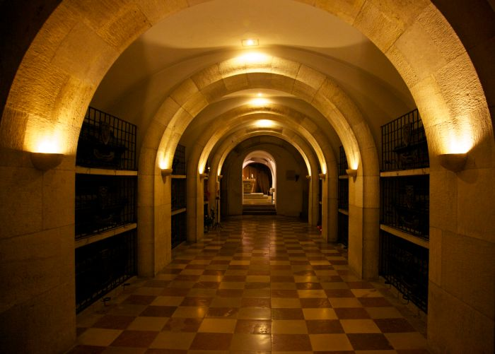 4. Catacombs under St Stephen's Cathedral, Vienna