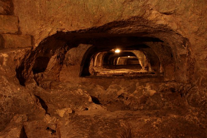 5. Chambers in the St Paul's Catacombs near Mdina, Malta