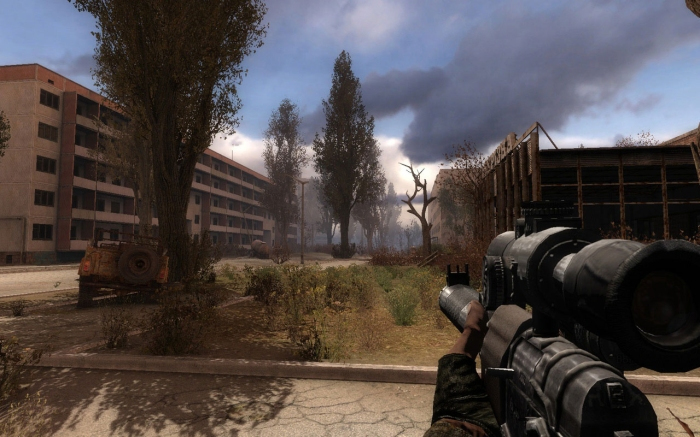 Still from the computer game 'Call of Pripyat' (2007)