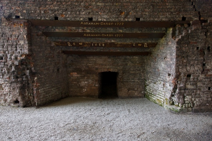 3. The first coke-powered blast furnace, built by Abraham Darby in 1709