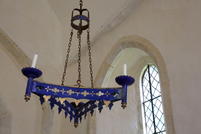 Candle holder, St Michael's church, Up Marden