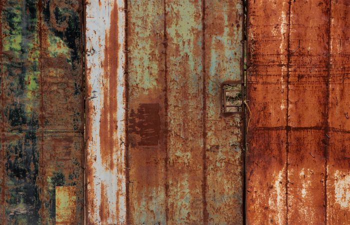Rusted gates, Malta