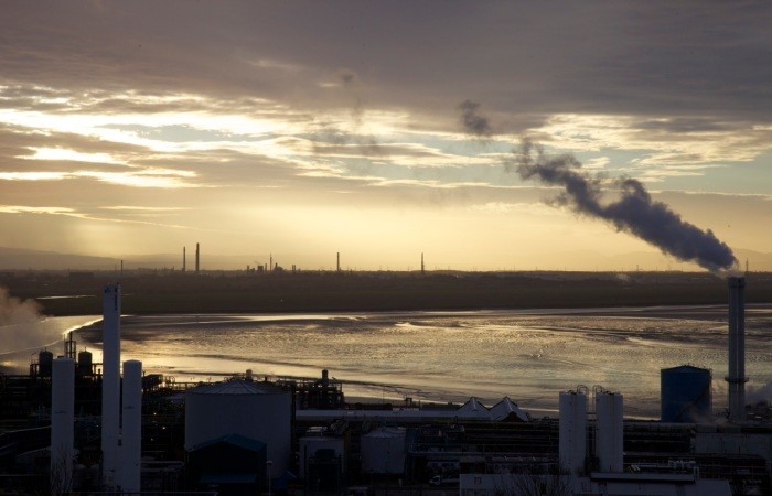 4. Castner Kellner chemical works with Stanlow in the distance