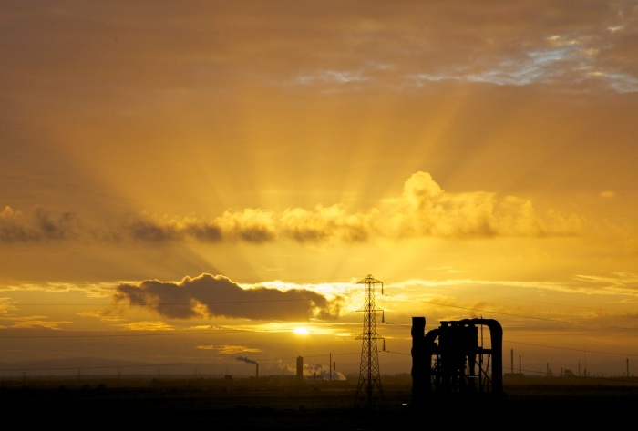 5. Sunset over Runcorn