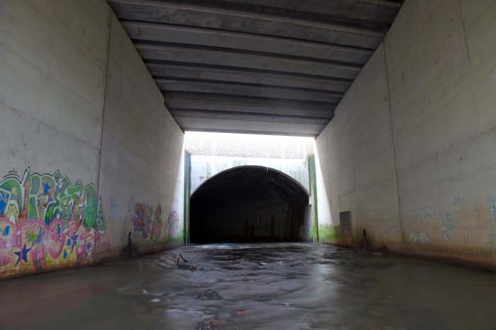 2. Entrance to the Medlock culvert, Philips Park