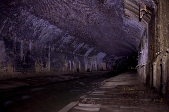 3. Inside the Medlock Culvert