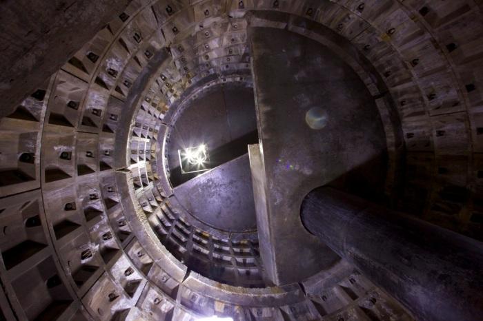 5. Inspection chamber, the Medlock culvert