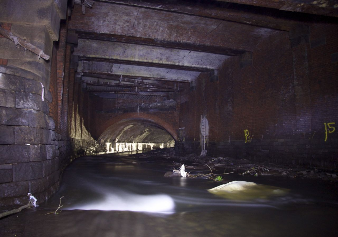 remnants as ruins  the irk culvert  manchester  u2013 paul
