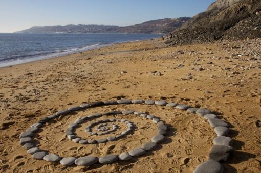 Spiral near Charmouth, Dorset