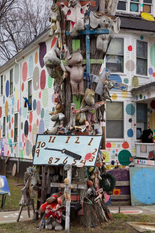 The Heidelberg Project on Detroit's east side.