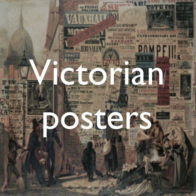 The language of the walls: Victorian posters   Paul Dobraszczyk
