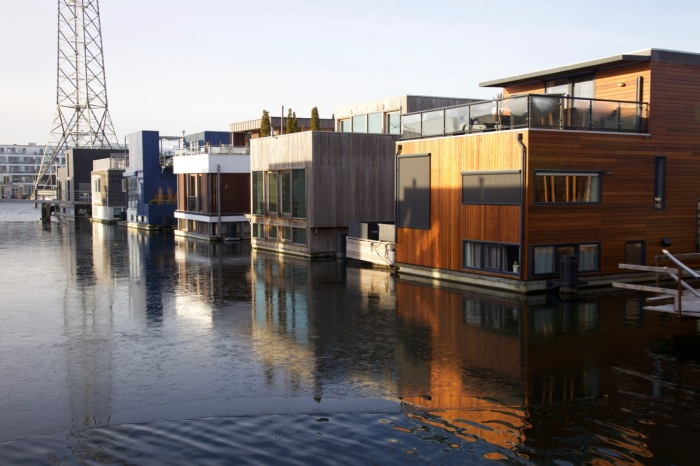Floating houses, IJburg, Amsterdam, built from 2013 onwards