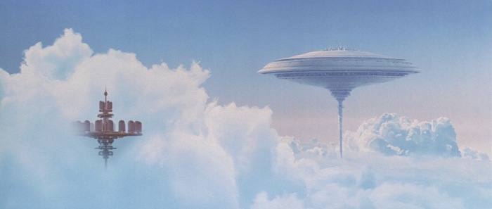 Cloud City as seen in The Empire Strikes Back (1980)