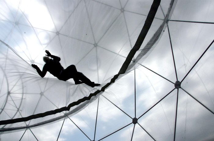 Tomas Saraceno, Observatory, Air-Port City, Hayward Gallery, London, 2008