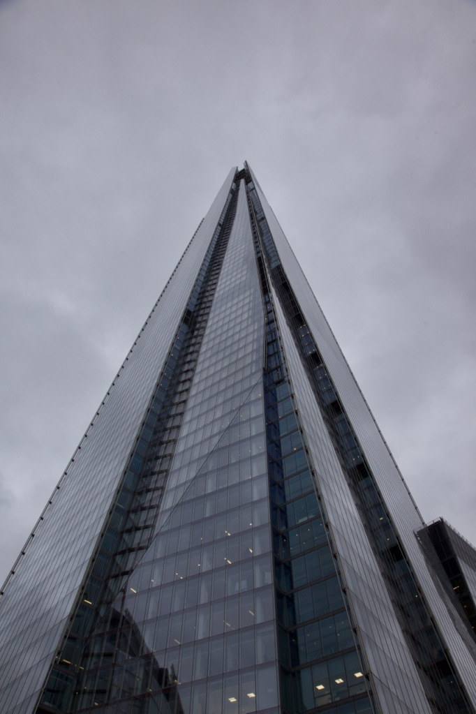 The Shard from Tooley St, outside London Bridge station