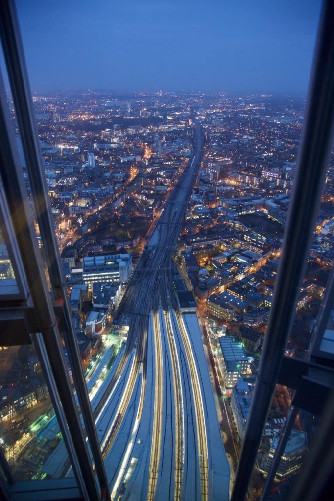London Bridge station and viaduct.