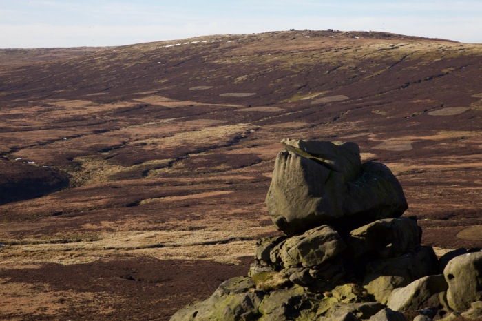 Bleaklow from Grinah Stones